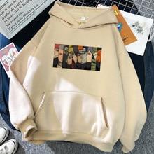 Hoodies anime japonês homem engraçado dos desenhos animados akatsuki hoodie casual streetwear harajuku hip hop topos masculino/feminino