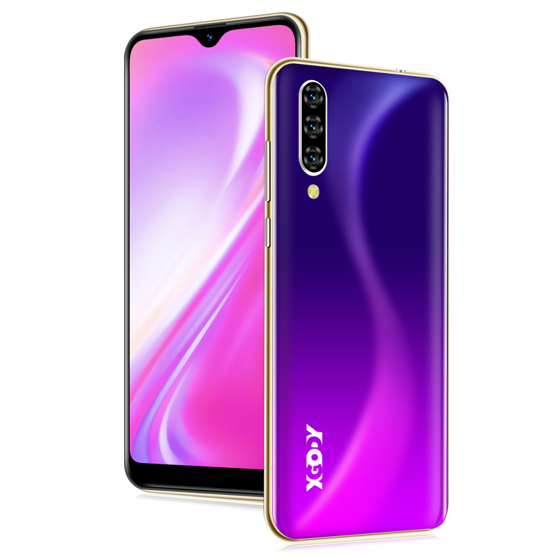 XGODY 3G Waterdrop Smartphone 6.26 Full Screen Face Unlock Mobile Phone Android 9.0 2GB 16GB MTK6580 Quad Core 5MP 2800mAh Note7