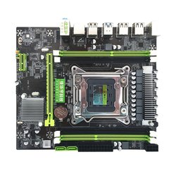X79H Four Memory Board Computer Motherboard Rtl8111H Gigabit Network Card 6 Channel Audio Chip Computer Motherboard