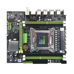 X79H dört bellek kartı bilgisayar anakartı Rtl8111H Gigabit ağ kartı 6 kanal ses çip bilgisayar anakartı