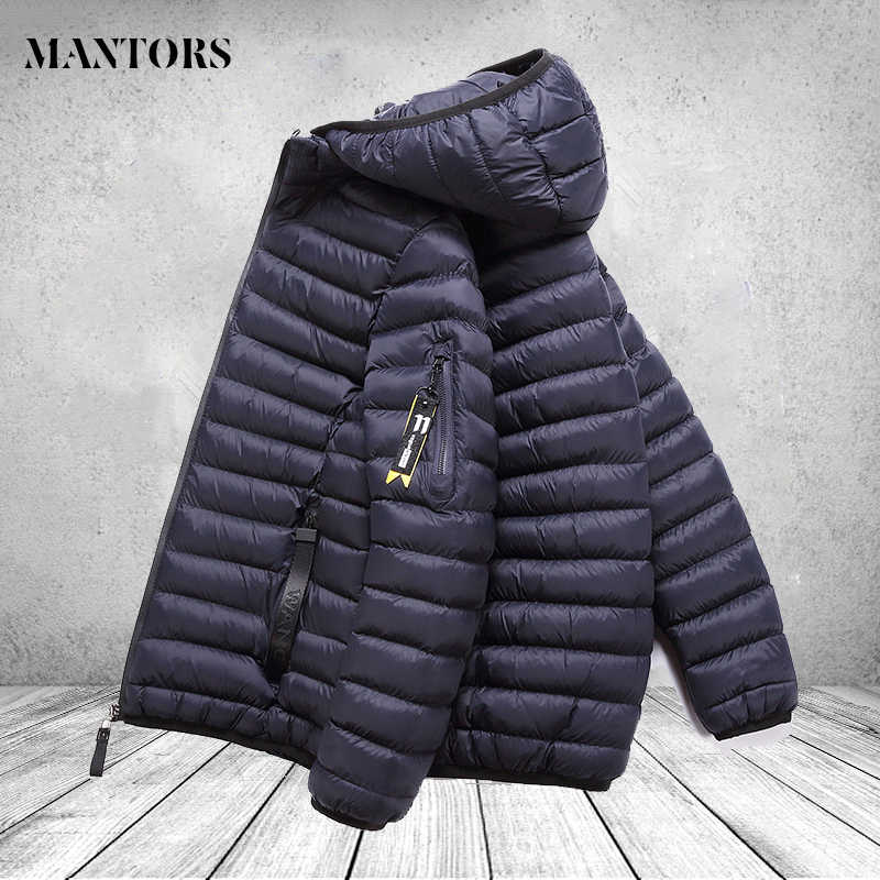 Winter Men Jackets Coat Cotton Thick Male Hooded Warm Outwear Coats Brand Clothing Sportswear Zipper Men's Overcoat Windbreaker