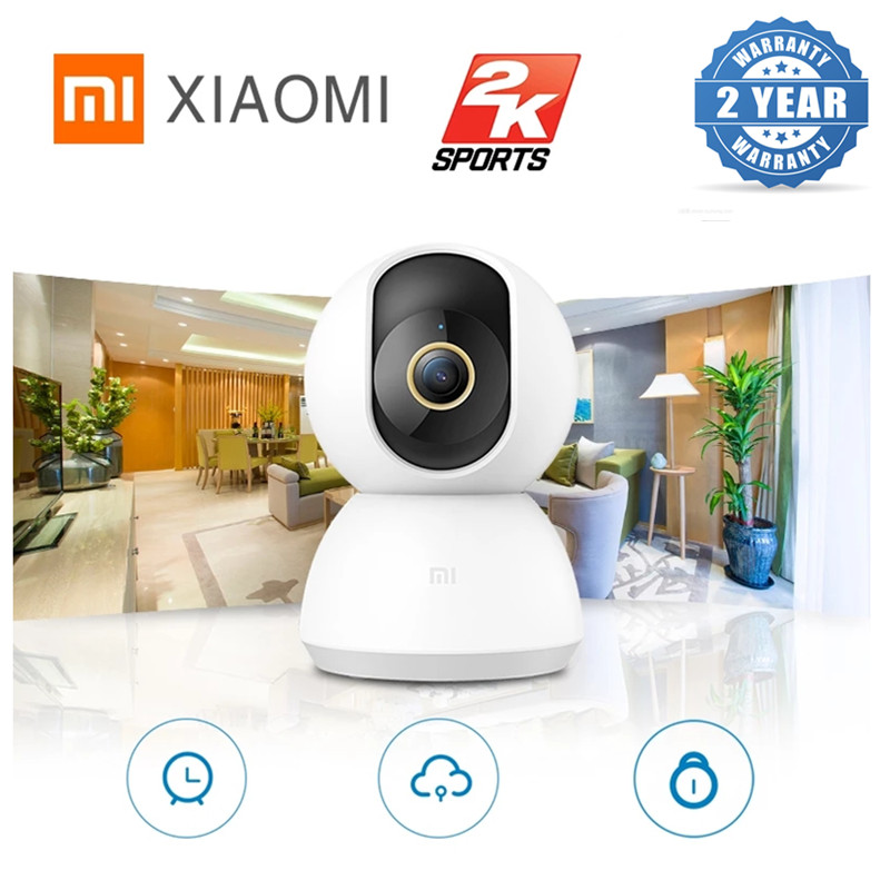 Xiaomi 360° Home Security Camera 2K AI Humanoid Detection 3 Million Pixels Infrared Night Vision Web Video Camera For MiHome APP
