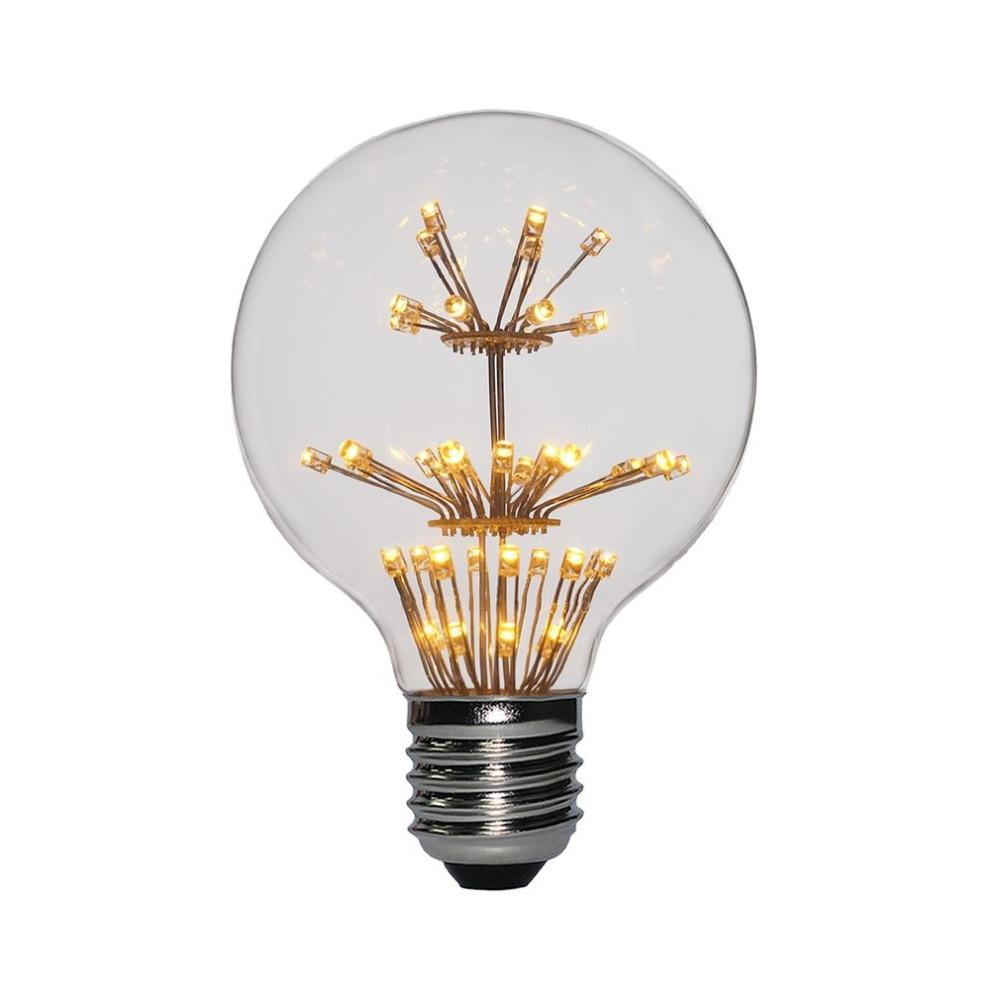 Led Light Bulb 220v 3w 2200k