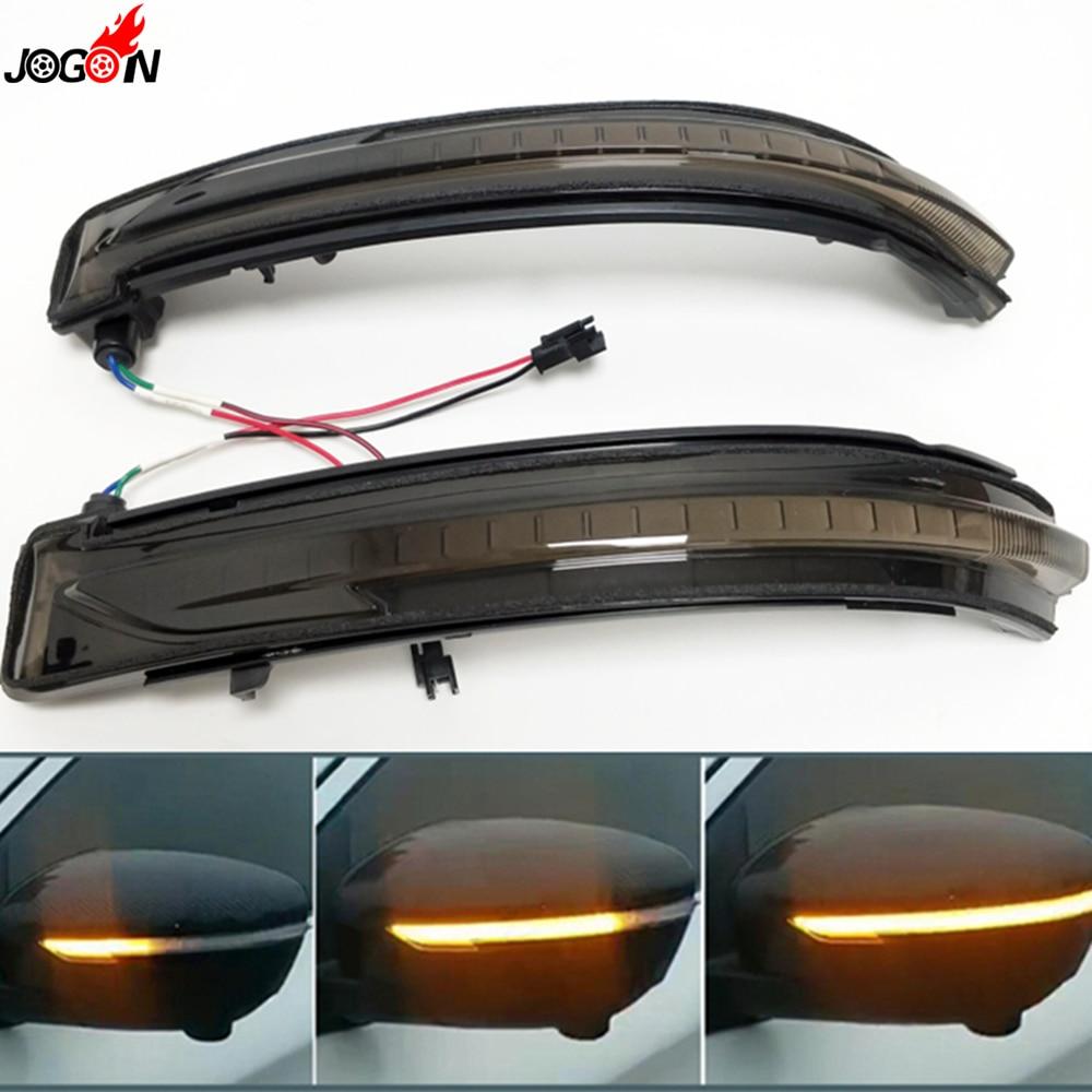 Black For Nissan X-Trail T32 Rogue Qashqai J11 Murano Navara Pathfinder LED Side Mirror Dynamic Turn Signal Sequential Light