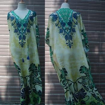 Cotton Long Beach Dress Robe de Plage Swimwear Women Cover ups Tunic Pareo Beach Cover up Kaftan Beach Saida de Praia Beachwear 10