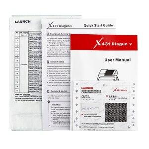 Image 5 - Bew הגעה השקת X431 Diagun V bluetooth wifi רכב מלא מערכת אבחון obd2 קוד קורא 16 איפוס פונקצית עדכון באינטרנט