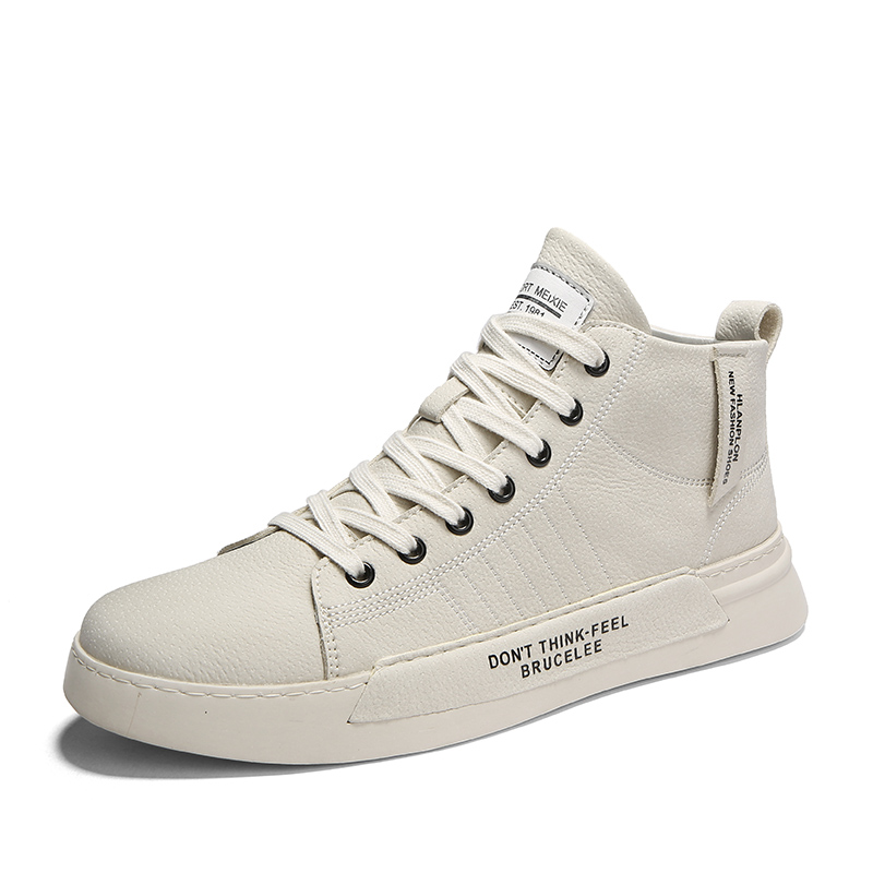 Для мужчин; Туфли с подошвой из вулканизированной резины; Новинка; Спортивная обувь с высоким берцем, Повседневное обувь Для мужчин осенние