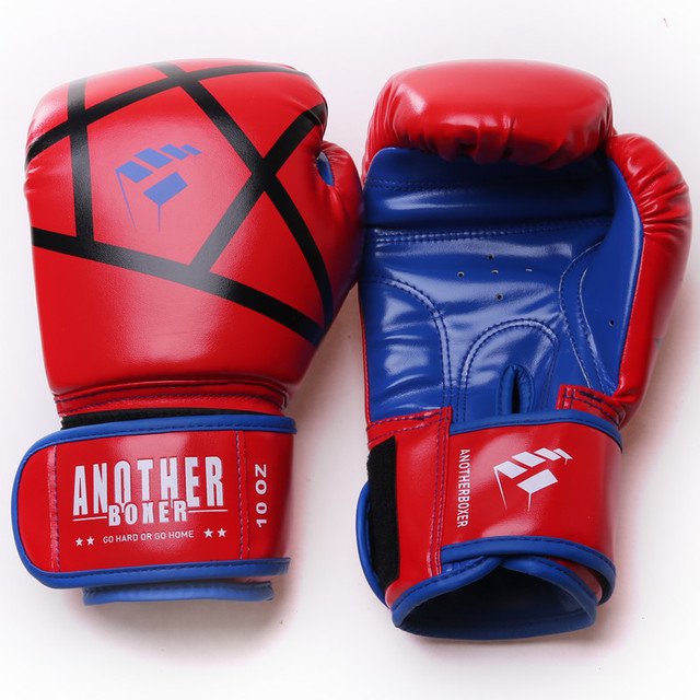 MMA Fierce fighting Boxing Sports Leather Gloves Tiger Muay Thai boxing pads