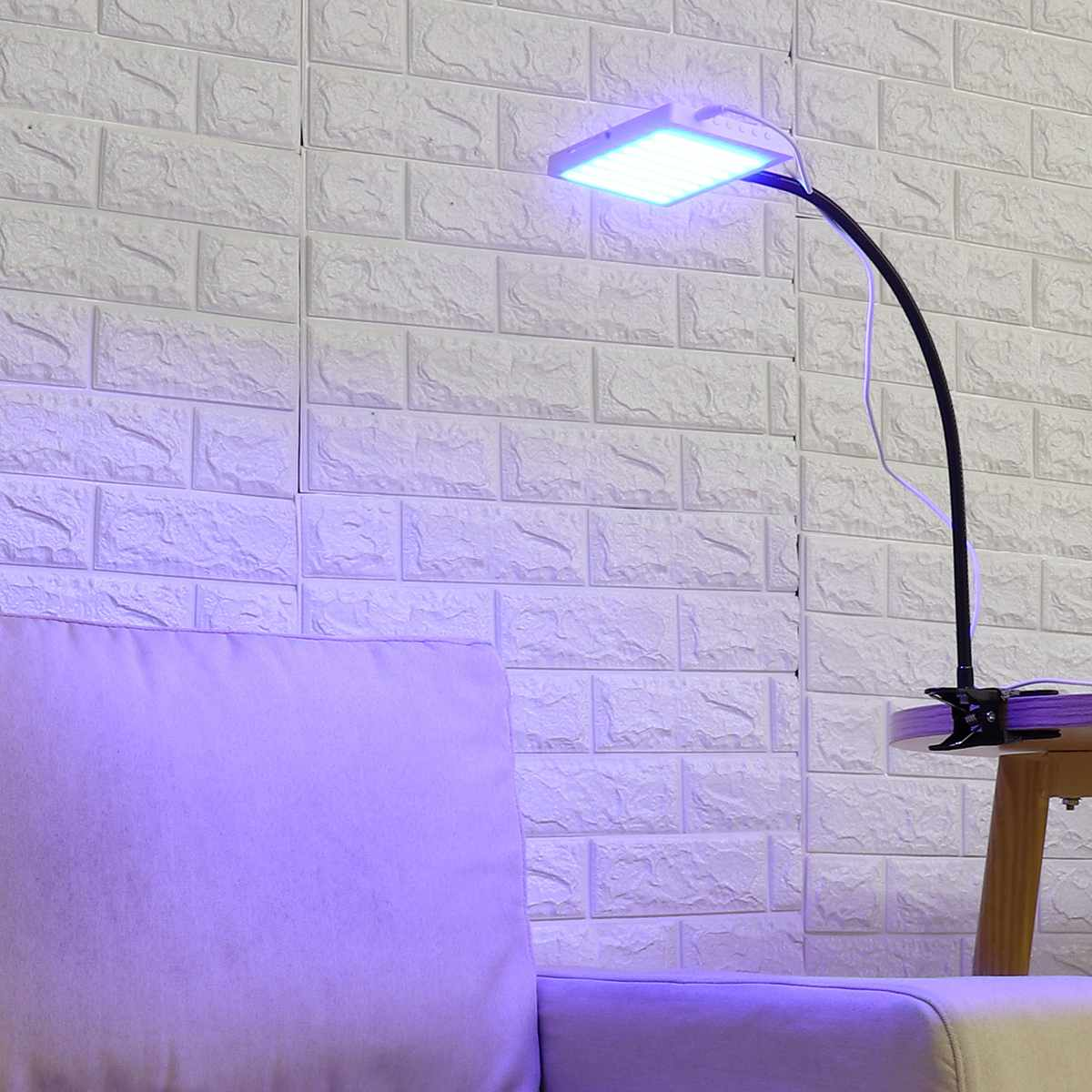 LED Light Skin Rejuvenation Lamp for Skin Relief Improve Sleep Blood Circulation Grow Light Set with Remote Control