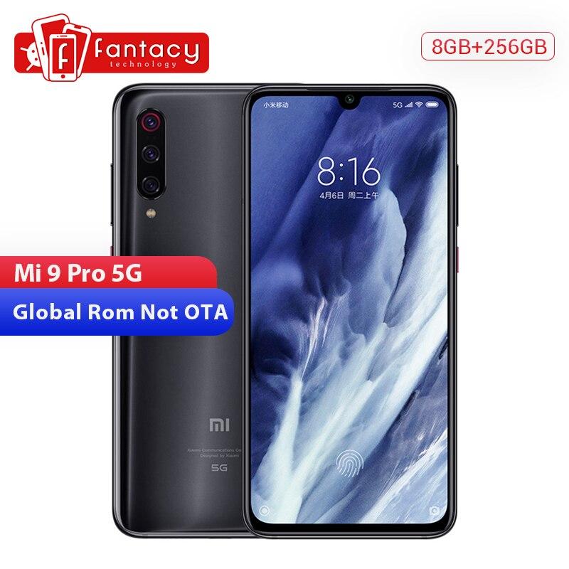 Original Xiaomi Mi 9 Pro Mi9 Pro (5G) 8GB 256GB Smartphone Snapdragon 855 Plus Octa Core 4000mAh 48MPTriple Cameras Quick Charge