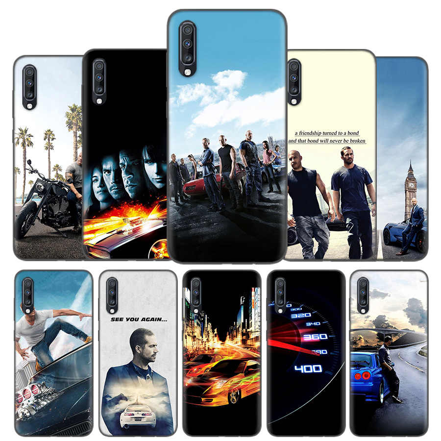 Silicone Case Cover Voor Samsung Galaxy A50 A80 A70 A40 A30 A20 A20e A10 A9 A8 A7 A6 Note 8 9 10 Plus 2018 5G Fast And Furious