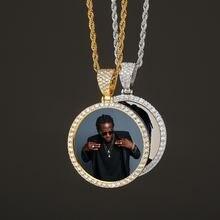 Ожерелье с подвеской в стиле хип хоп большого размера кулоном
