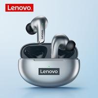 Lenovo LP5 TWS auricolari Wireless Touch Control cuffie Bluetooth 5.0 cuffie impermeabili 13mm bobina mobile auricolari Stereo HiFi
