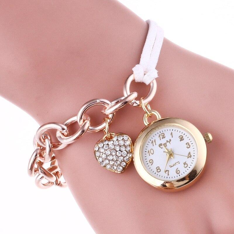 Mini Dial Textile Strap Decoration Casual Pendant Pocket Watch Quartz Pocket Fob Watches Chain Men Women Fashion Clock