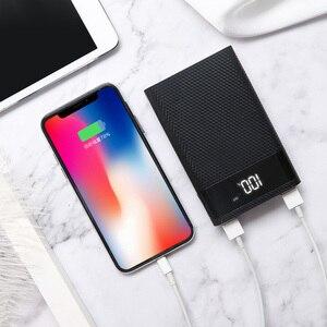 Image 4 - Kebidumei 4x18650 DIY כוח בנק מקרה סוללה תשלום אחסון תיבת 5V USB הכפול סוג C אנדרואיד מיקרו USB ממשק עבור טלפונים חכמים