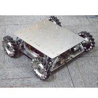 40KG Load Shock absorbing Suspension Omni Mecanum Wheel Robot Car Chassis Platform with 4pcs 24V Motor Arduino Controller