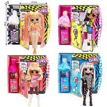 28 см LOL куклы-сюрпризы, куклы для девочек, игрушки большого размера lol, модная Кукла haha для девочек, комплект для девочек, игрушка «сделай сам»...
