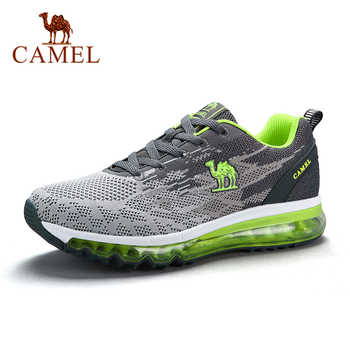 CAMEL Couple Running Shoes Air Cushion Max Sports Breathable Lightweight Shock Absorption Platform Outdoor Sneakers - DISCOUNT ITEM  30% OFF Sports & Entertainment