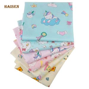 Fabric Patchwork Tissue-Cloth-Set Quilting Unicorn-Series Handmade-Material Sewing Twill Cotton