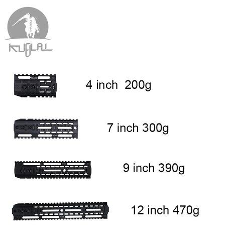 acessorios de caca picatinny rail airsoft 4 7 9 12 tactical gel blaster sistema ferroviario