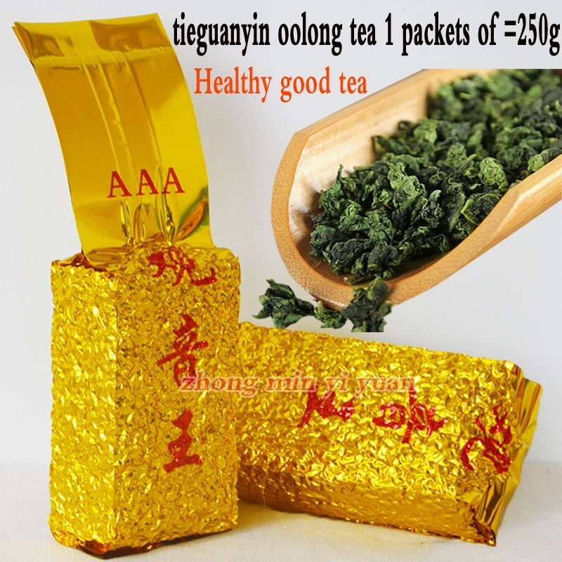 2019 Tie Guan Yin Tea Superior Oolong Tea 1725 Organic TieGuanYin Tea China Green Food For Weight Lose Health Care 250g