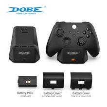 Control Akku für Microsoft X Box Xbox One Serie S X Controller Gamepad Ladegerät Lade Pack Charge Kit Station