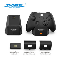 Control Rechargeable Battery for Microsoft X Box Xbox One Series S X Controller Gamepad Charger Charging Pack Charge Kit Station