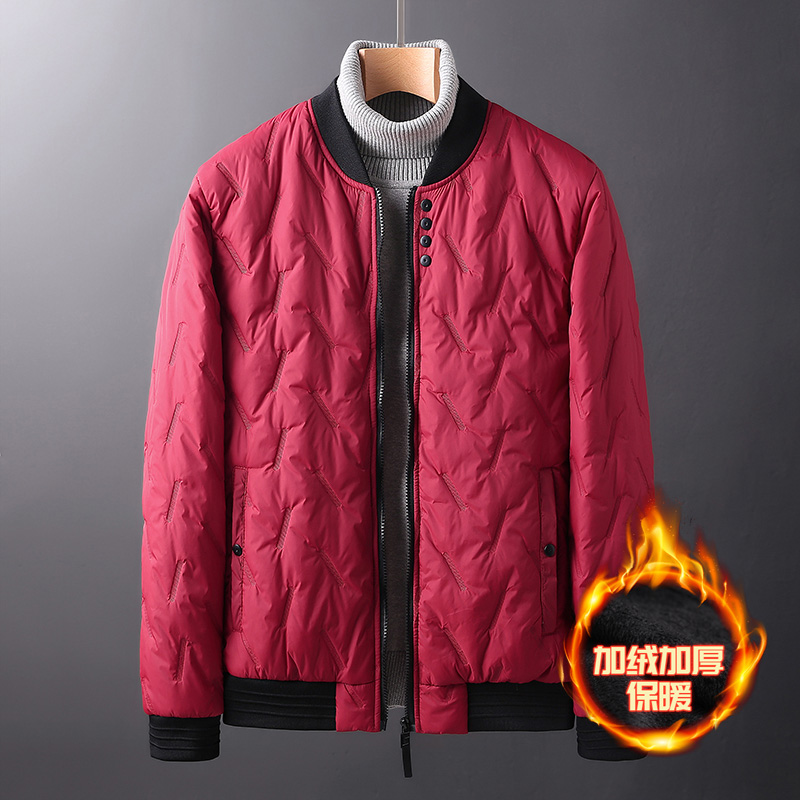 Quality Solid Casual Cotton Pad Coat Spring Autumn Casual Coat Solid Color Jacket Men Cotton Warm Male Jacket And Coat Outerwear