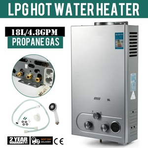 6/8/10/12/16/18L LPG Gas Propane Instant Tankless Hot Water Heater Boiler Stainless Steel Gas Water Heater