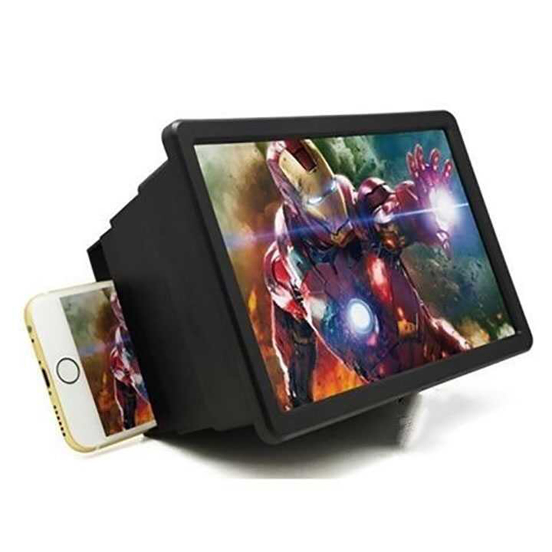 Universal Mobile Phone Screen 3D Magnifier Stand Foldable Amplifier Video Smart Phone Holder Cellphone Movie Aid Gear