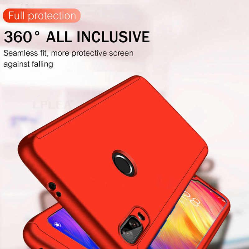 360 Couverture complète étui de protection Pour Xiao mi Rouge mi Note 8 7 6 5 Pro K20 4X 4A 5A 6A mi Note 10 Pro 9T CC9E mi A2 A3 9 Lite 8 SE Sac