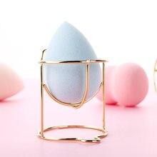 Maquillaje calabaza de esponja del soplo de polvo de huevo en polvo soporte para esponja caja secadora organizador belleza estante titular Herramienta 1pc