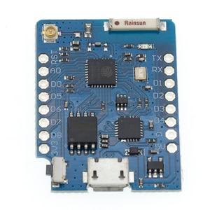 Image 4 - Mini módulo WeMos D1 P8266 ESP 12, Mini Placa de desarrollo, WiFi, Micro USB, 3,3 V, basado en ESP 8266EX, 11 pasos