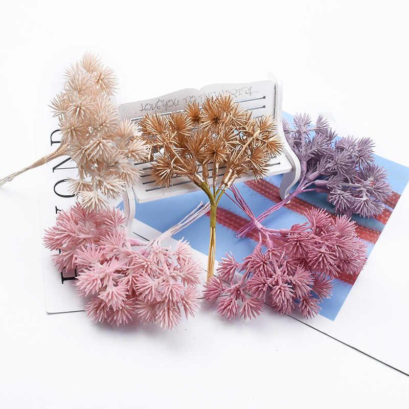 6 stück geschenke candy box vasen für home dekoration zubehör Kinder fotografie requisiten künstliche pflanzen silk kiefer nadeln diy
