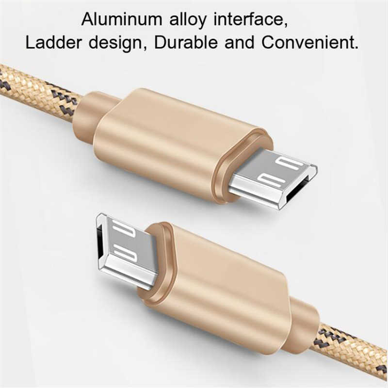 2.4A Fast Charging Data Cable Micro USB For Samsung Galaxy S7 S6 For Huawei Xiaomi Redmi 5 4 LG Android Phone Fast Charger Cord