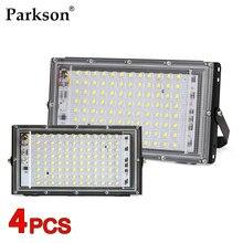 4 sztuk/partia 100W LED Flood światła AC 220V 230V 240V odkryty reflektor reflektor IP65 wodoodporny reflektor...