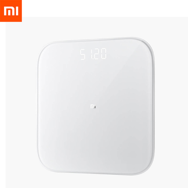 2019 Original Xiaomi Smart Weighing Scale 2 Bluetooth 5.0 MiFit APP Control Precision Weight Scale LED Display Fitness Household
