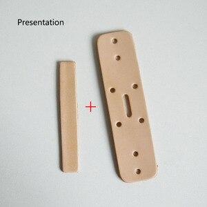 Image 4 - Deepeel 1pc 3.8cm * 110 \ 120cm pierwsza warstwa skóry wołowej wytłoczony pasek ze sprzączką Band wyroby rękodzielnicze DIY pasy skórzane akcesoria