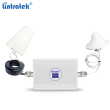 Lintratek 4G Repeater 900 1800 Mhz Signal Booster GSM 2G 4G Ampli GSM 900 Repeater 4G 1800Mhz AGC 70dB Dual Band Booster gsm modem pool 8 ports for wavecom q2303 module usb at commands 900 1800 mhz