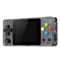 Ldk 2.6 Inch Game Console Open Source System Mini Handheld Build In 3000 Games Retro Game Mini Family Tv Video Console Black