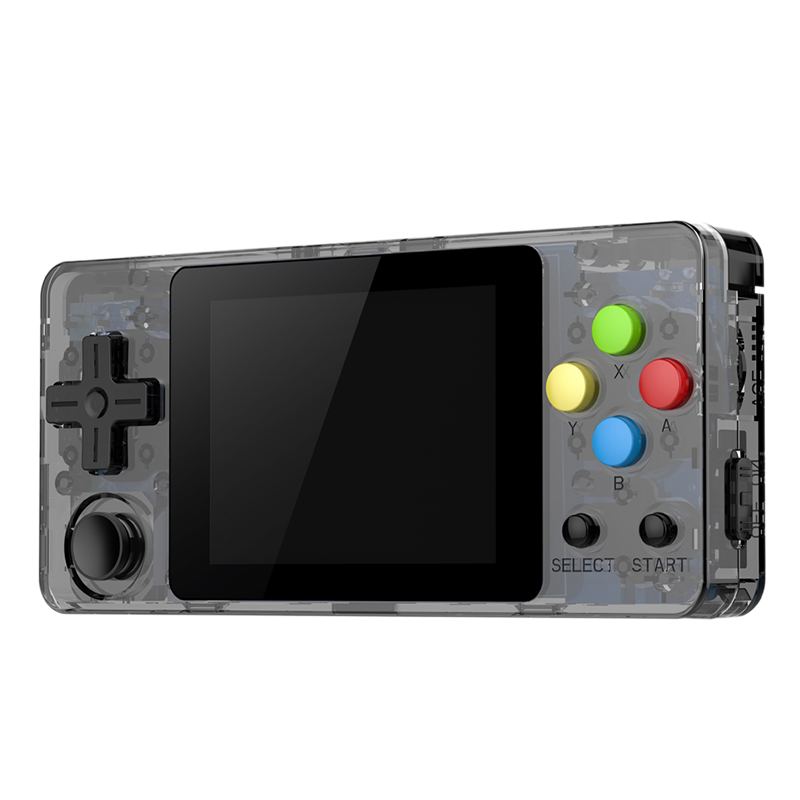 Ldk 2.6 Inch Game Console Open Source System Mini Handheld Build-In 3000 Games Retro Game Mini Family Tv Video Console Black