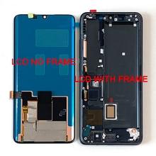"6.47"" Original M&Sen For Xiaomi Mi Note 10 Mi Note 10 Pro LCD Screen Display+Touch Panel Digitizer Frame For Xiaomi Mi CC9 Pro"