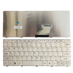 Z nami klawiatura do Acer Aspire One 521 522 533 D255 D255E D257 D260 D270 AO521 532 H AO532 NAV50 ZE6 ZH9 biały klawiatury laptopa w Zamienne klawiatury od Komputer i biuro na