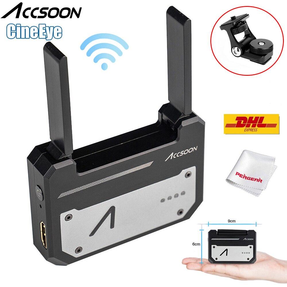 Accsoon CineEye 5 グラムワイヤレスビデオ送信機システムポケット伝送 HDMI 1080 1080P HD まで送信 100 メートル IOS Android デジタル一眼レフカメラ  グループ上の 家電製品 からの フォトスタジオ用アクセサリー の中 1