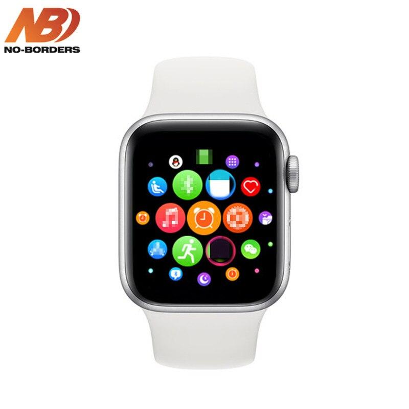 NO-BORDERS IWO 13 T500 Series 5 Beehive Smartwatch Bluetooth Call 44mm Smart Watch Heart Rate Monitor Blood Pressure VS IWO 8 12