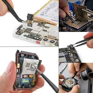Image 5 - Handskit 90W 220V 110V Digital Soldering Iron kit Electric Soldering Iron with Multimeter Set  5pcs Soldering Tips Welding Tools
