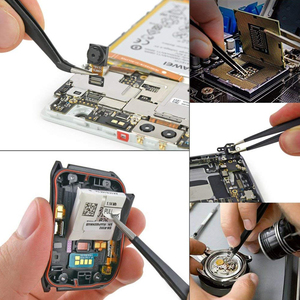 Image 5 - Handskit 90W 220V 110V Digitale Soldeerbout Kit Elektrische Soldeerbout Met Multimeter Set 5 Pcs Solderen tips Lassen