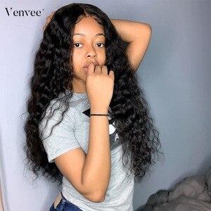 Прозрачные полностью кружевные человеческие волосы парики предварительно выщипанные с волосами младенца 150 180 250 свободная волна полный па...