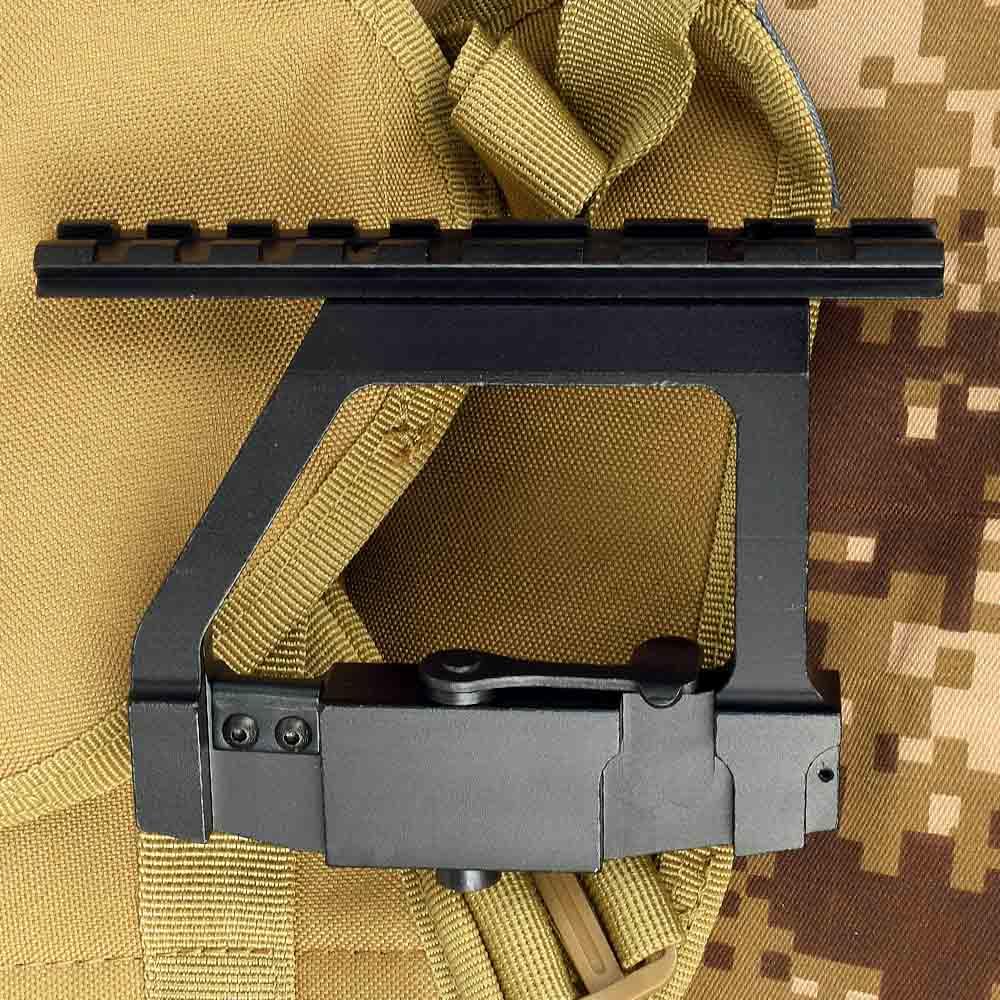 Spor ve Eğlence'ten Dürbün Tertibat ve Aksesuarları'de Taktik AK 74U montaj hızlı bırakma 20mm AK yan ray kilit kapsamı sabitleme kaidesi AK 74U tüfek avcılık CS savaş title=