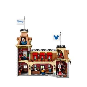 Image 4 - J11001 disney train et gare blocs de construction briques compatibles avec lepingl 71044 jouet éducatif pour enfants cadeau danniversaire